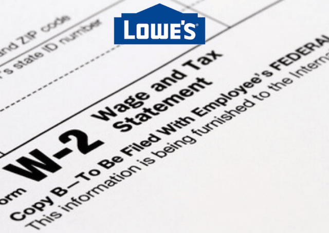 Lowes-W2-forms